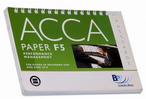 ACCA Paper F5 Performance Management