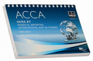 ACCA Paper F7 Financial Reporting (International and UK stream) Passcards for exams in 2011